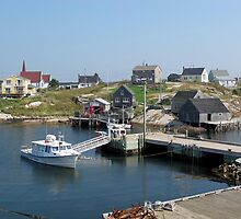 Peggy's Cove, Nova Scotia by Carol Phelps