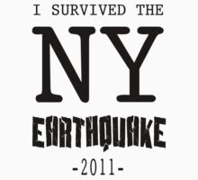 I SURVIVED THE NY CITY EARTHQUAKE by agliarept
