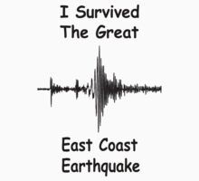 I Survived the Great East Coast Earthquake! by Paul Gitto