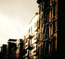 When the Sun Hits - Lower East Side by Vivienne Gucwa