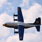"C130 Hercules, Blue Angels ""Fat Albert"", Rochester, NY Airshow by rogerlloyd"