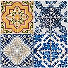 Vintage ceramic tiles by homydesign
