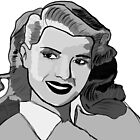 Rita Hayworth Drawing. by KerryLaurenHean