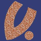 """V For Bandana"" - Orange Orangutan by VictimWear"