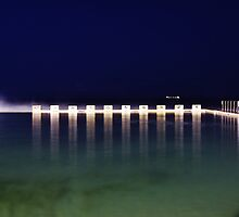 Starting Blocks - Merewether Baths  by Park Lane  Photography