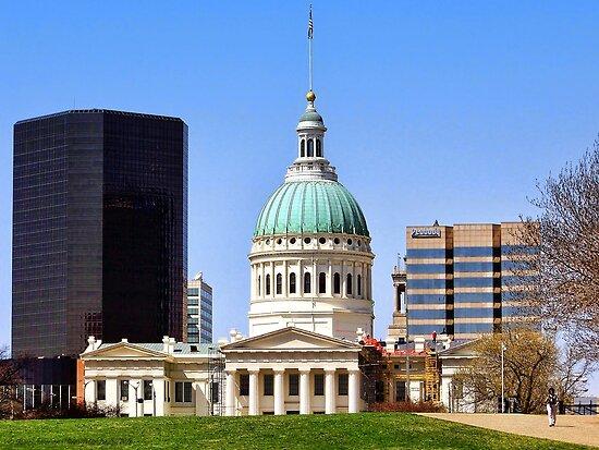 Saint Louis Skyline (USA) by rocamiadesign