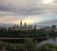 Ottawa Skyline - HDR by Josef Pittner