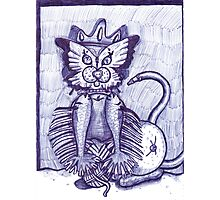 Hidden Kitty Photographic Print