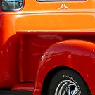 shiny orange pickup by tego53