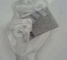 Hand and Cube by Stephen Green