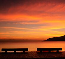 Amber Skies - The Esplanade, Cairns by asskwoo