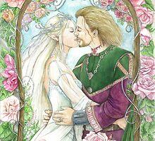 Arum and Arache by morgansartworld