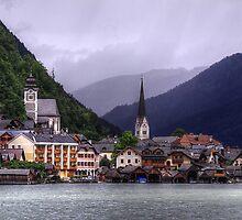 Hallstatt, Austria by Adrian Harvey