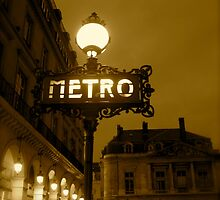 Paris Metro by acey77