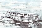 Here is my boat by Maree  Clarkson