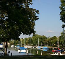 Neenah Harbor by Jack G Brauer
