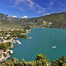 Vista sul Riva del Garda by Martina Fagan