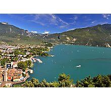 Vista sul Riva del Garda Photographic Print