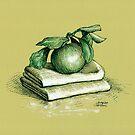 Green apple by Dasidaria Hardcastle
