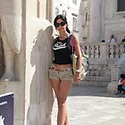 Lily in Dubrovnik - 2 by branko stanic