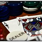 Cartooned Poker by AdomexPhoto