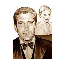 John and Carolyn Photographic Print
