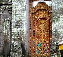 Temple Door by YogiColleen