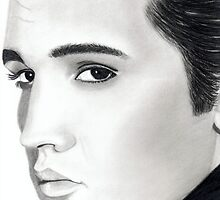 Elvis Presley by kwalden