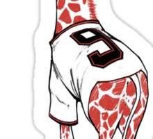 Baby Giraffe Belt Sticker