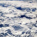 Flying over the Canadian Rockies by Sunny Shaffner