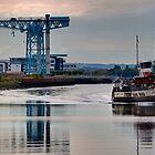 PS Waverley @ Clydebank Titan by Peter Stark