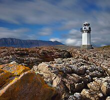 Rhue lighthouse by John Ellis
