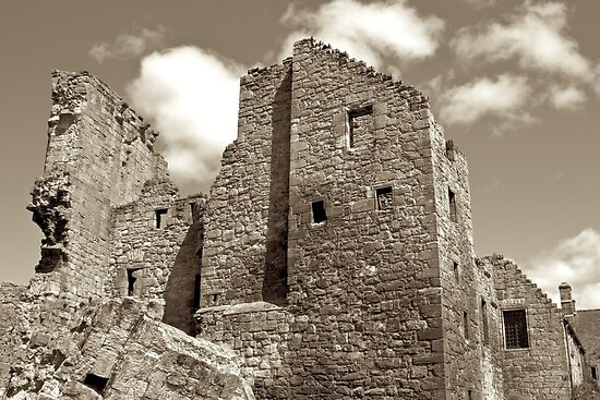 Aberdour Castle, Scotland (circa 12th Century) by asm1