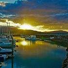 Airlie Beach Harbour at Sunset by Daniel  Archer
