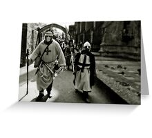 Knights of St Lazarus Greeting Card