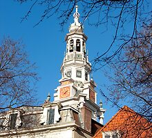 Keeping track of time and history... Zuiderkerk Tower Amsterdam by steppeland