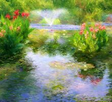 Watergarden In Monet Style by CrowningGlory