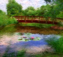 Monet's Bridge by CrowningGlory