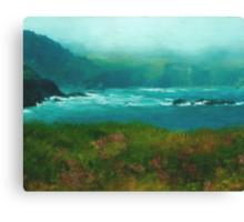 Mendocino Fog Canvas Print