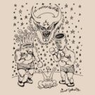 Daniel Johnston Drawing by Snufkin
