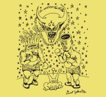 Daniel Johnston Drawing Kids Clothes