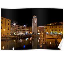 Notte a Riva del Garda Poster