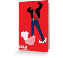 Grease Greeting Card