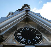 St. Raphael's Cathedral Clock by ingridthecrafty