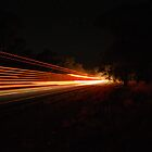 Streaks in the night by Justin Knewstub