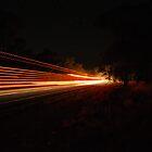 Streaks in the night by Justin Knewstub