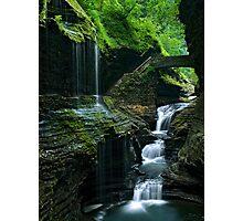 Watkins Glen Falls Photographic Print