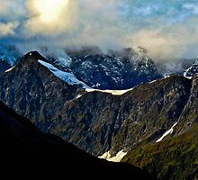 Alaska Mountain Top by Stephen  Saysell