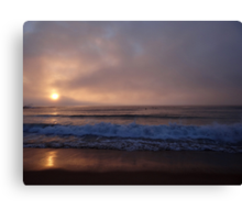 A Different Kind of Sunrise Canvas Print