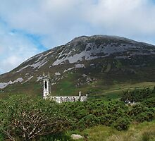 St John's Church and Errigal Mountain by WatscapePhoto